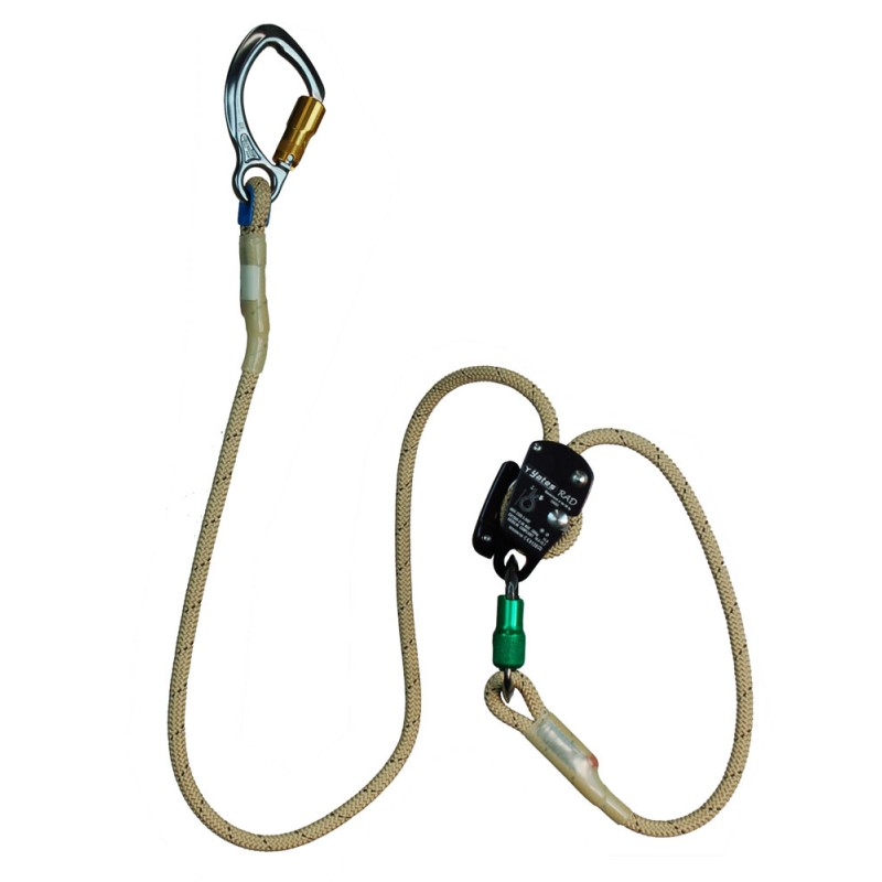 Yates Positioning Lanyard (1.5 and 2 metre) w/RAD Adjuster