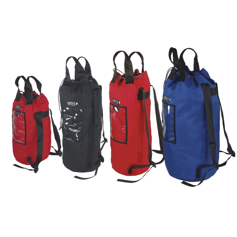 Bucket Style Rope Bags w/ Straps