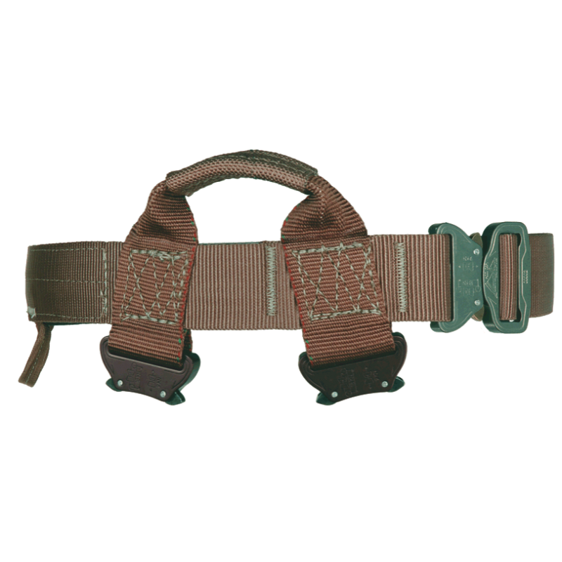 319CPJ Special Forces Rappel Belt with Cobra Buckle Waist and Legs